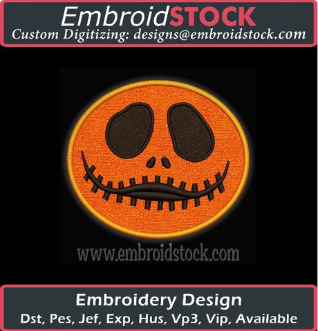 Halloween Embroidery Designs Pack #2 - Embroidstock