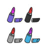 Image of Lipstick Embroidery Design - Embroidstock