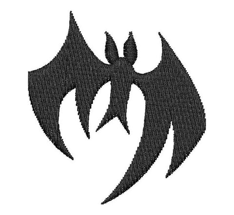 Halloween Bat Embroidery Design - Embroidstock
