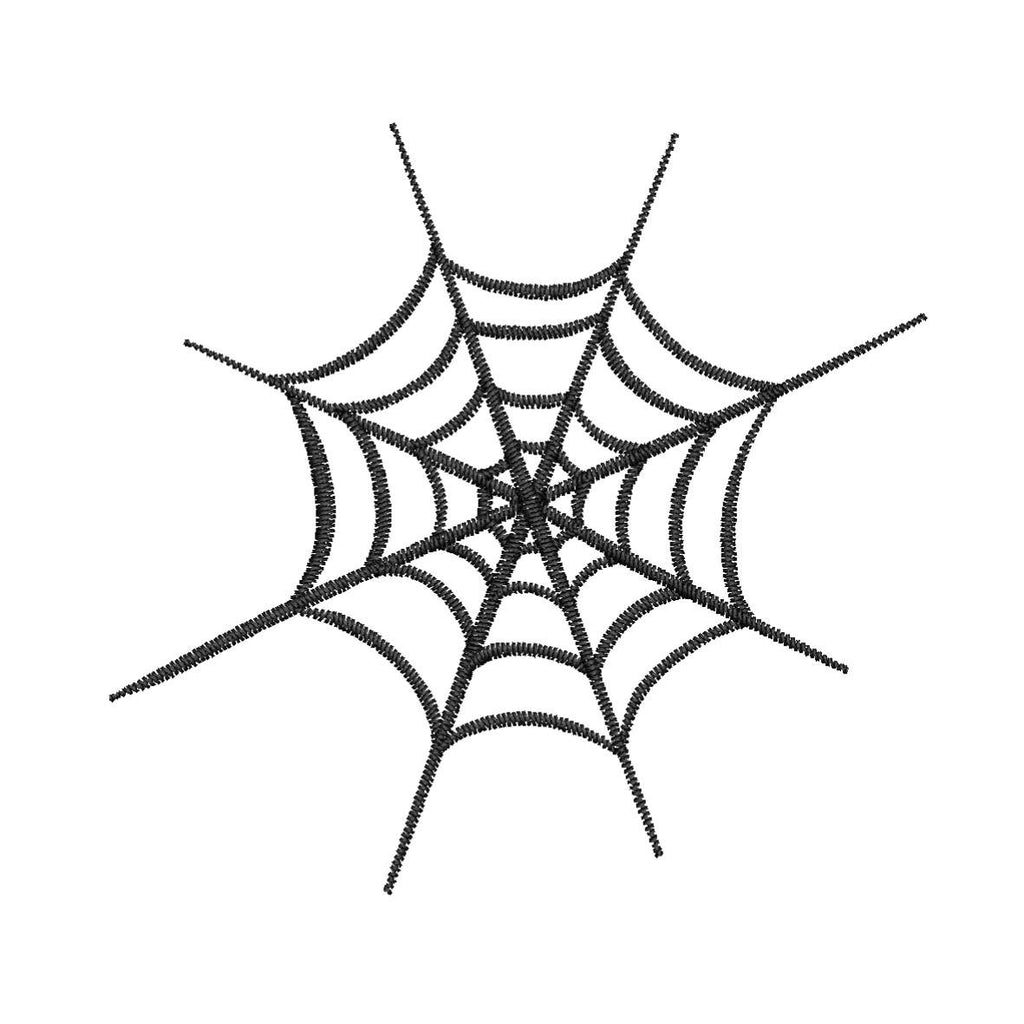 Scary Spider Web - Embroidstock