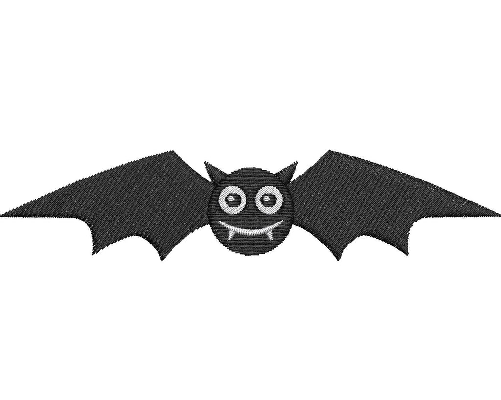 Cute Bat Embroidery Design - Embroidstock
