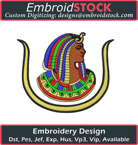 Egyptian Embroidery Design - Embroidstock