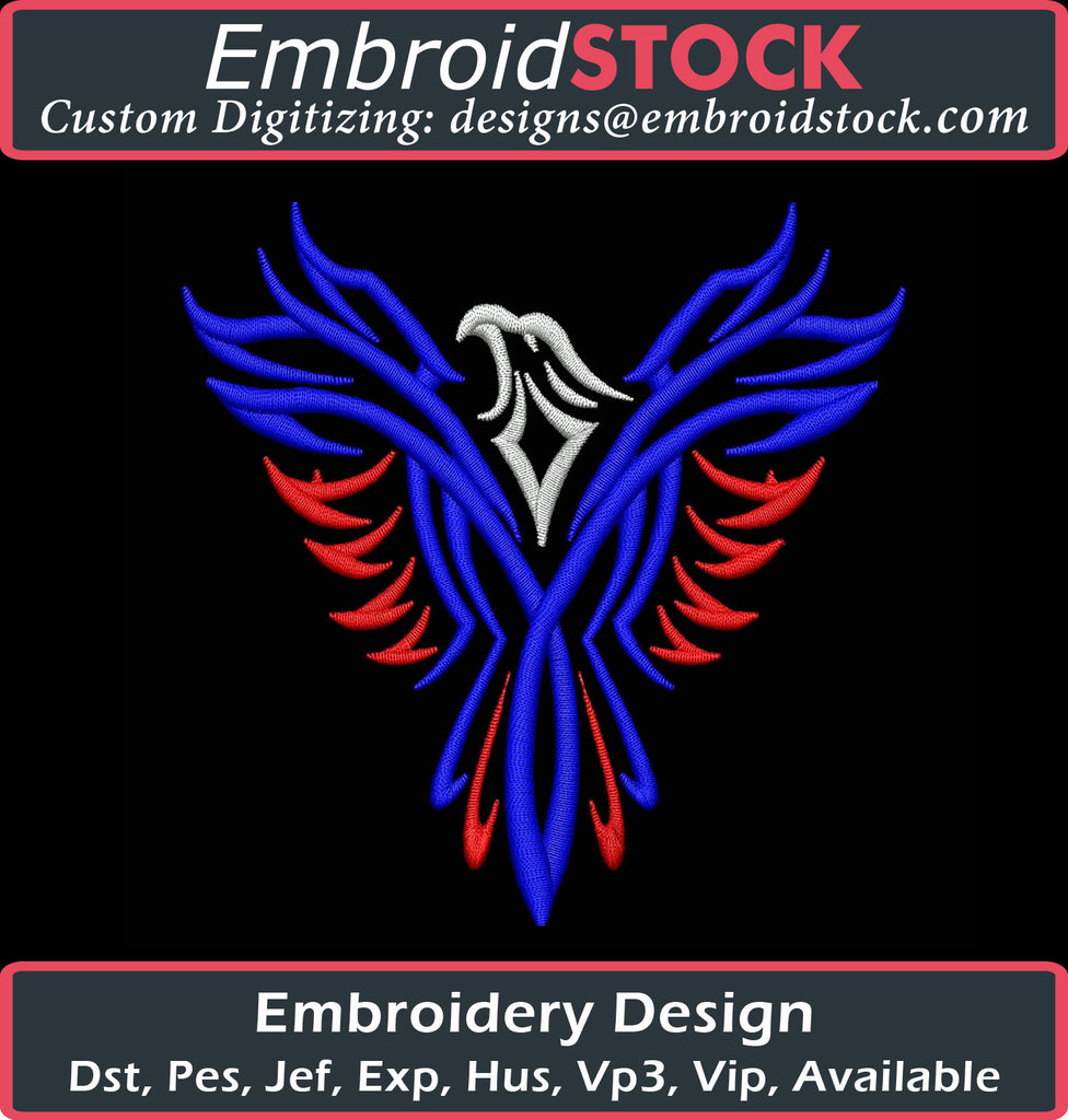 American Eagle Embroidery Design - Embroidstock