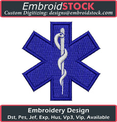 Medical Embroidery Design - Embroidstock