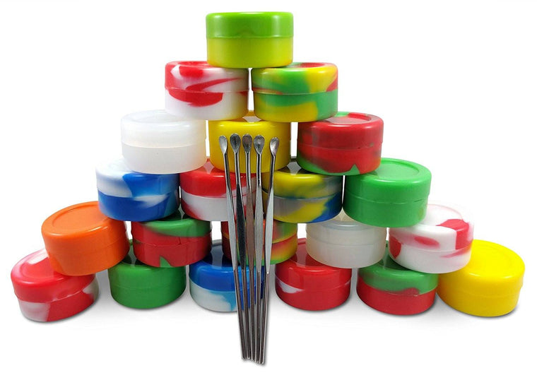 20 Nonstick Silicone WAX DAB Container