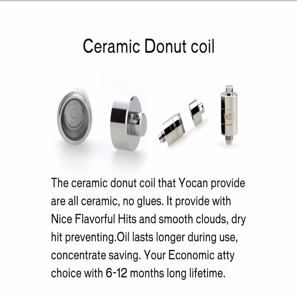 Yocan Evolve Plus Coils (5 PACK) and Caps