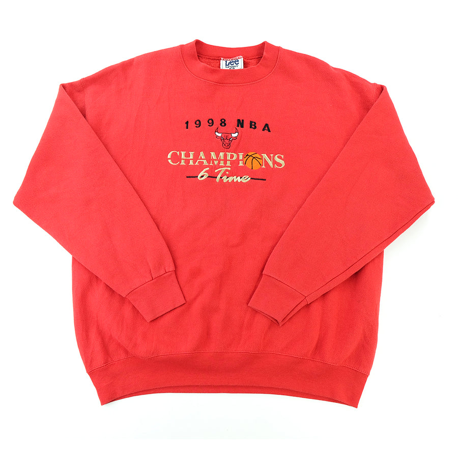 Chicago Bulls Vintage 1998 NBA Champions Sweatshirt - XL