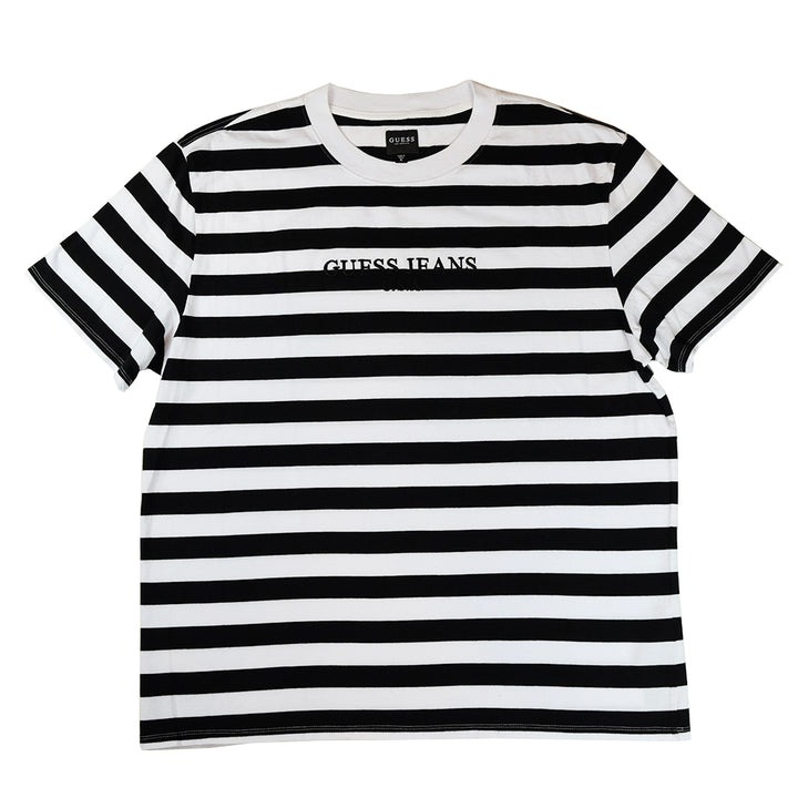 Guess Jeans USA Striped T-Shirt - XL