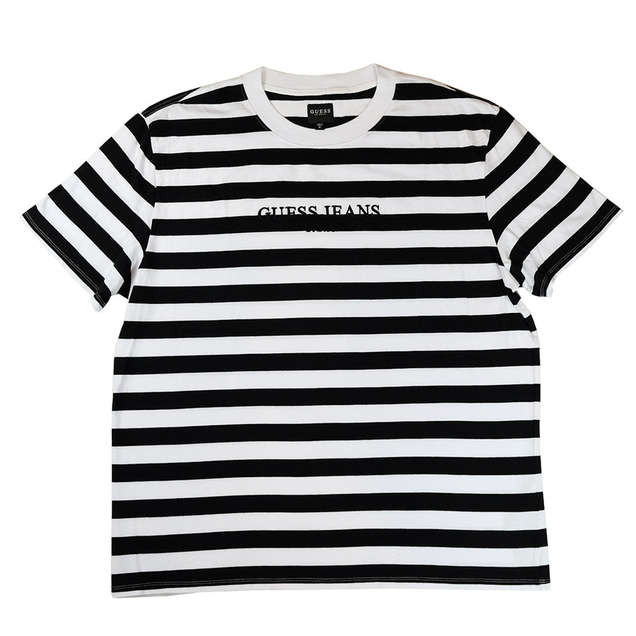 89659f80c857 Guess Jeans Striped T Shirt - raveitsafe