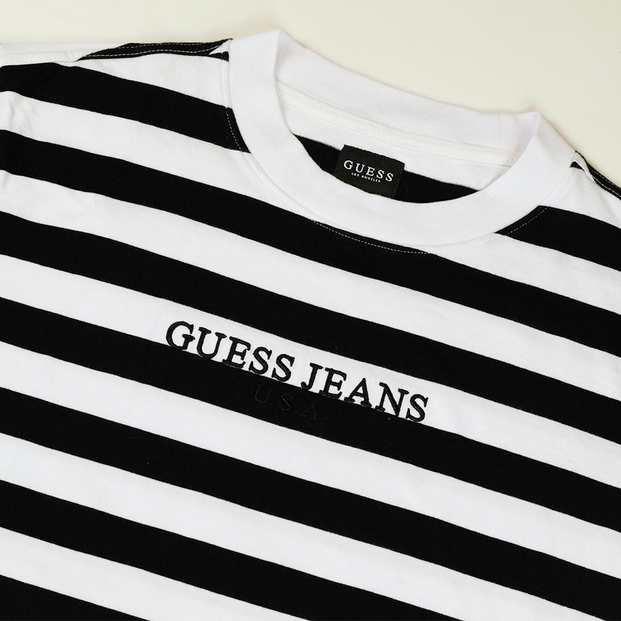 Guess Jeans USA Striped T-Shirt - XS