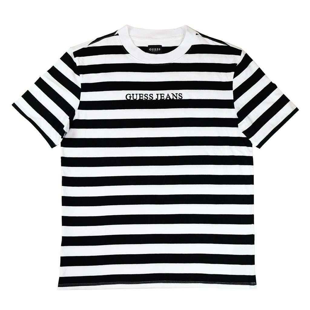 guess jeans usa striped tee