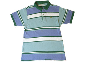 Lacoste Stripe Polo Shirt - S