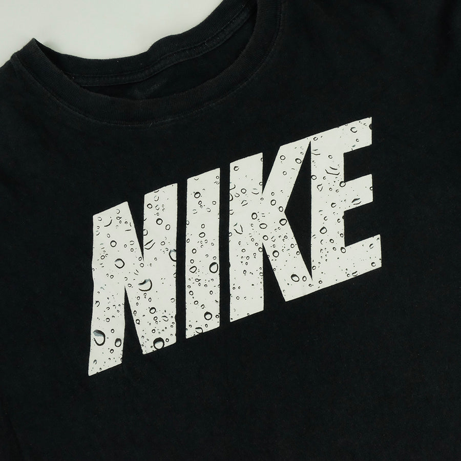 Nike Water Drops Big Logo T-Shirt - L