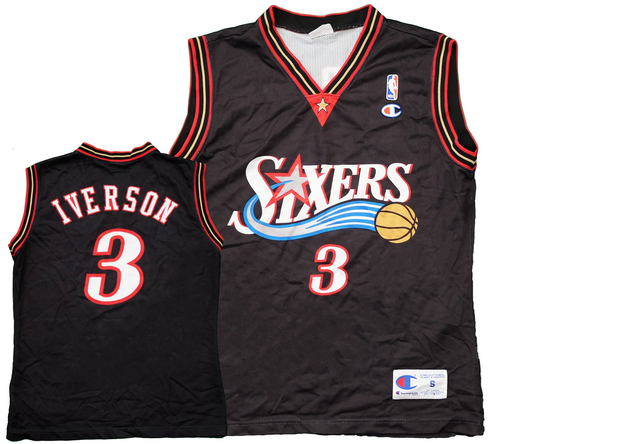 new concept a0016 89b0f philadelphia 76ers iverson jersey