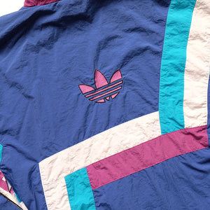 Vintage RARE Adidas Team Spell Out Logo Matching Tracksuit - L