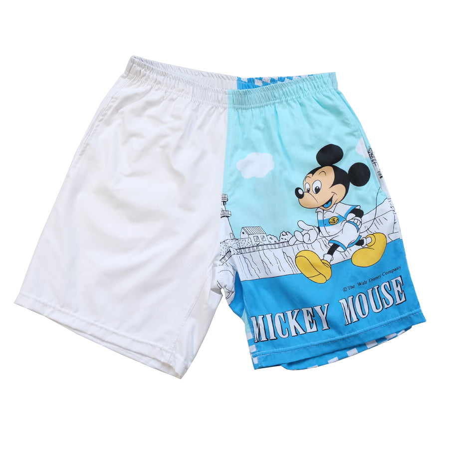 Vintage Mickey Mouse Reworked Shorts - L/XL