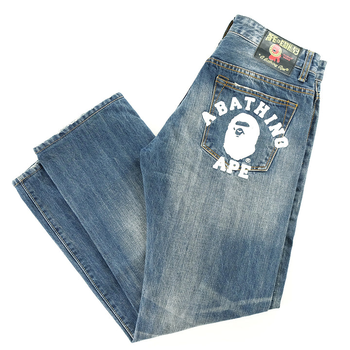 A Bathing Ape Denim Jeans - 30