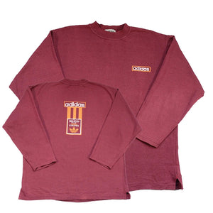 Vintage Adidas 80s Three Stripes Brand Sweatshirt - L
