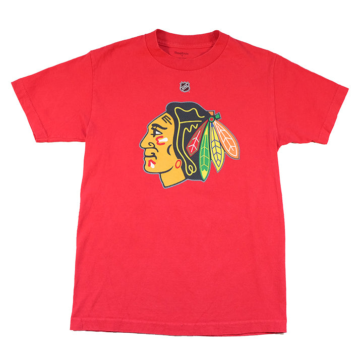 Vintage Chicago Blackhawks Big Graphic T-Shirt - S