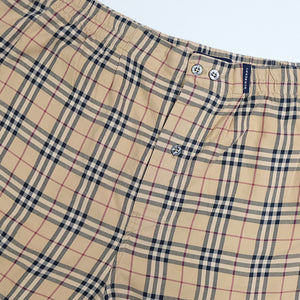 Burberry Classic Nova Check Lounge Shorts - XL