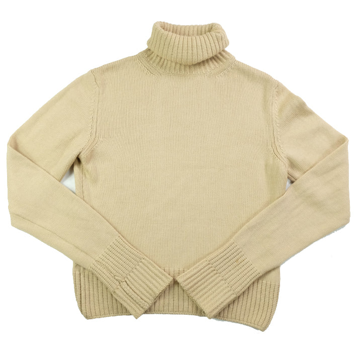 Vintage Burberry WOMENS Turtleneck Sweater - L