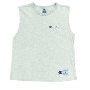 Champion Embroidered Spell Out Tank Top - M
