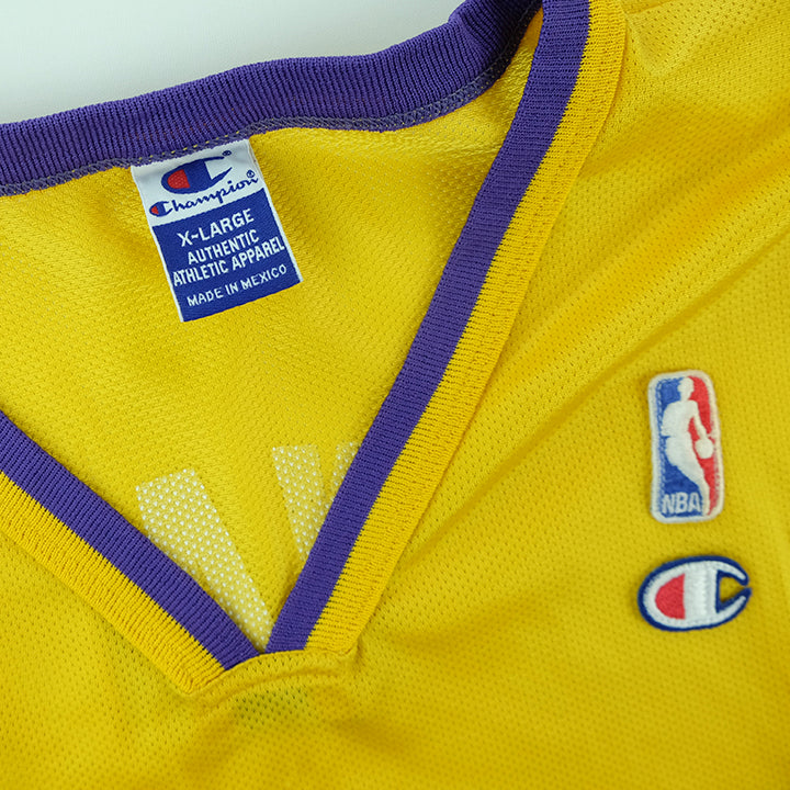 4e9a5bf1add4 Vintage Champion Lakers Kobe Bryant Jersey - XL – Steep Store