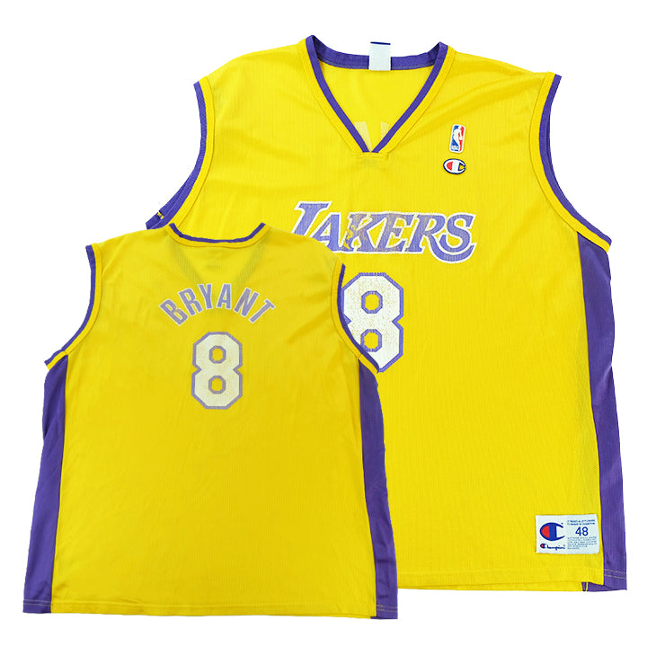 buy online 52722 ef80f Vintage Champion Lakers Kobe Bryant Jersey - XL