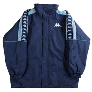 Vintage Kappa Classic Tape Quilted Jacket - L