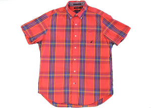 Nautica Short Sleeve Button Up - M