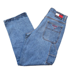 Vintage OG Tommy Hilfiger Carpenter Denim Jeans - 33/32