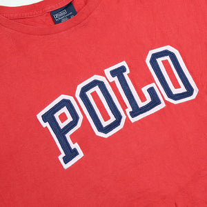 RARE Polo Ralph Lauren Big Embroidered Spell Out T-Shirt - XXL