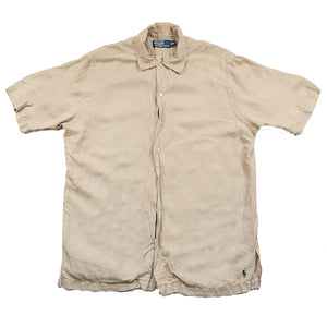 Polo Ralph Lauren Short Sleeve Button Up - M