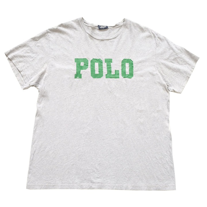 Vintage Polo Ralph Spell Out T-Shirt - M/L