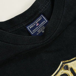 Vintage Polo Sport Ralph Lauren Route 67 Spell Out T-Shirt - M