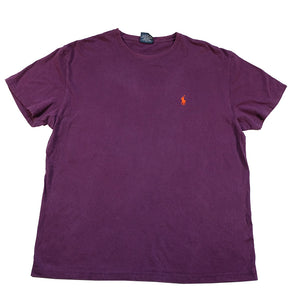 Vintage Polo Ralph Lauren Classic Embroidered Logo T-Shirt - M