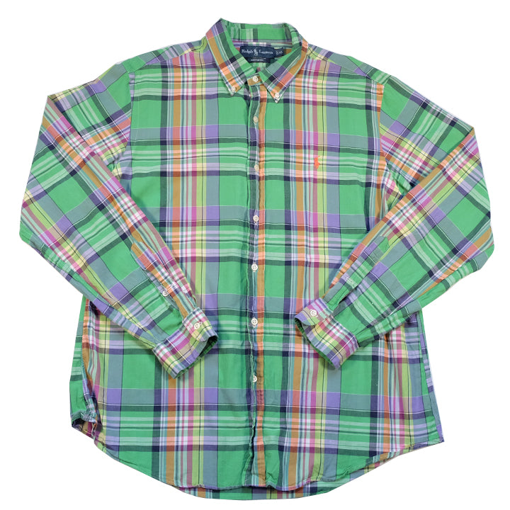 Polo Ralph Lauren Long Sleeve Button Up - L