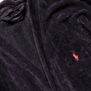 Polo Ralph Lauren Velour Embroidered Horse Robe - M-XL