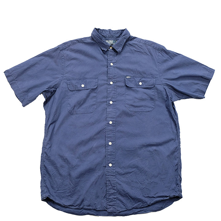 Polo Ralph Lauren Short Sleeve Button Up - L
