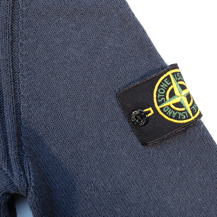 Stone Island SS 2014 Sleeve Patch Knit Sweater - L