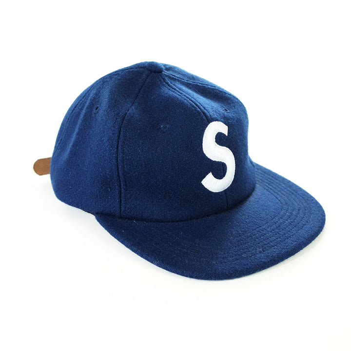 Supreme S Logo Wool 6 Panel Cap - Deadstock