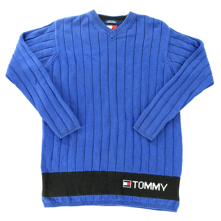 Tommy Hilfiger Spell Out Sweater - M