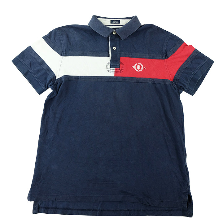 Tommy Hilfiger Big Flag Polo Shirt - L