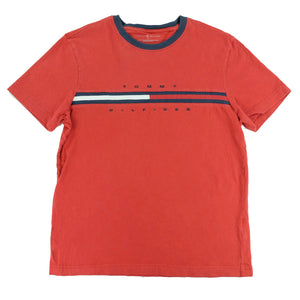 Tommy Hilfiger Flag Spell Out T-Shirt - S
