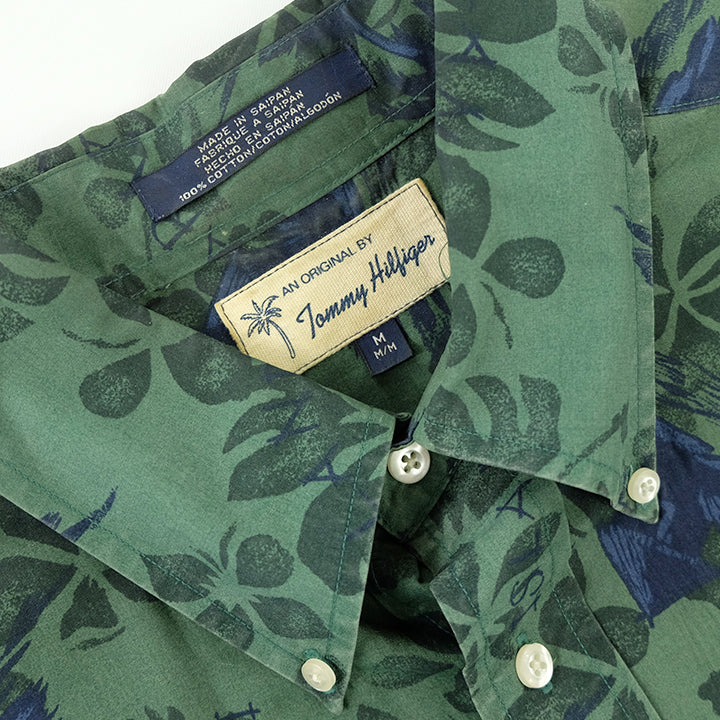 Tommy Hilfiger 90s Hawaiian Style Button Up - L
