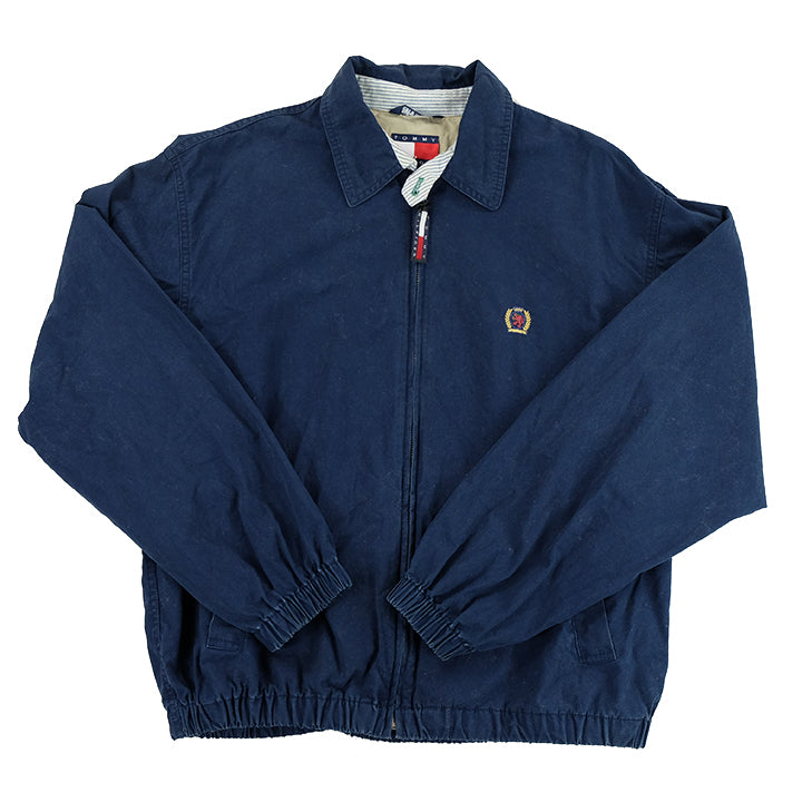 90s Tommy Hilfiger Lion Crest Harrington Jacket - M