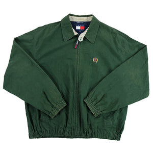 90s Tommy Hilfiger Lion Crest Harrington Jacket - L