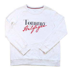 Tommy Hilfiger Spell Out Crewneck - M/L