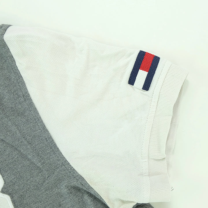 Tommy Hilfiger Spell Out Polo Shirt - M