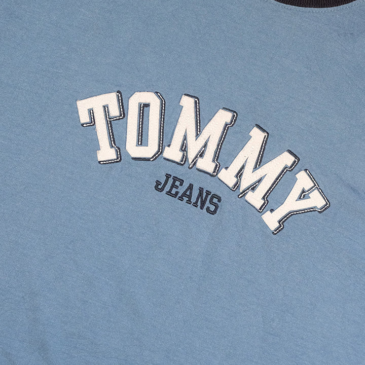 03c41edc Vintage Tommy Hilfiger Spell Out T-Shirt - XL – Steep Store